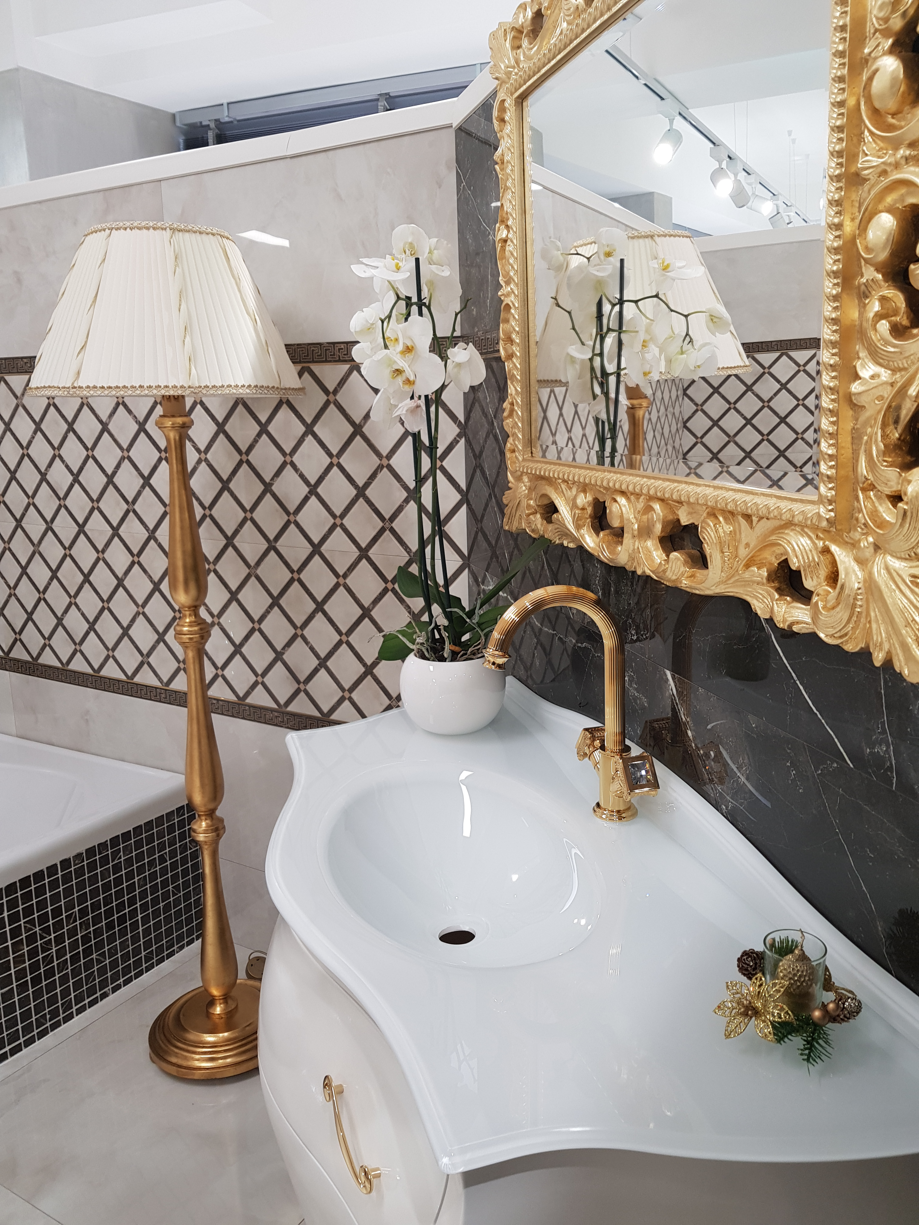 Versace-Olympia lavabo